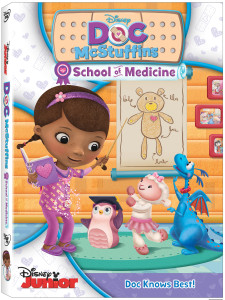 Doc McStuffins School of Medicine DVD, Disney Junior