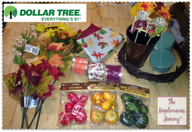 Dollar Tree Fall Decor Items