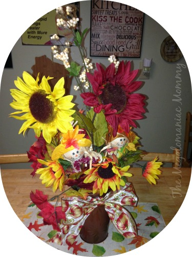 Fall Centerpiece Dollar Tree