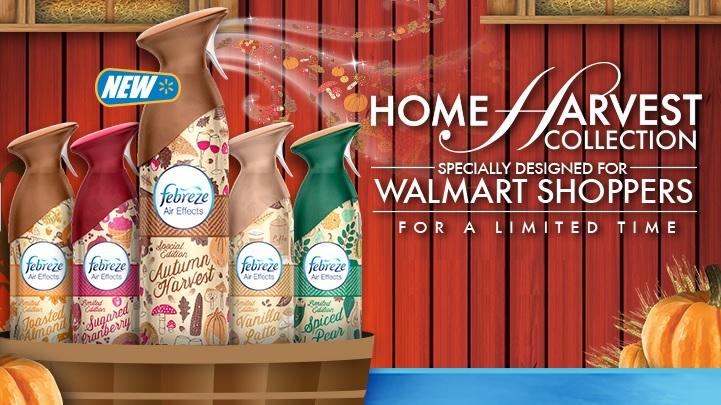 Febreze Home Harvest Collection #FebrezeFall Walmart