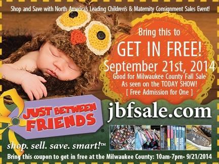 #JBFMilwaukee Free Entry Coupon