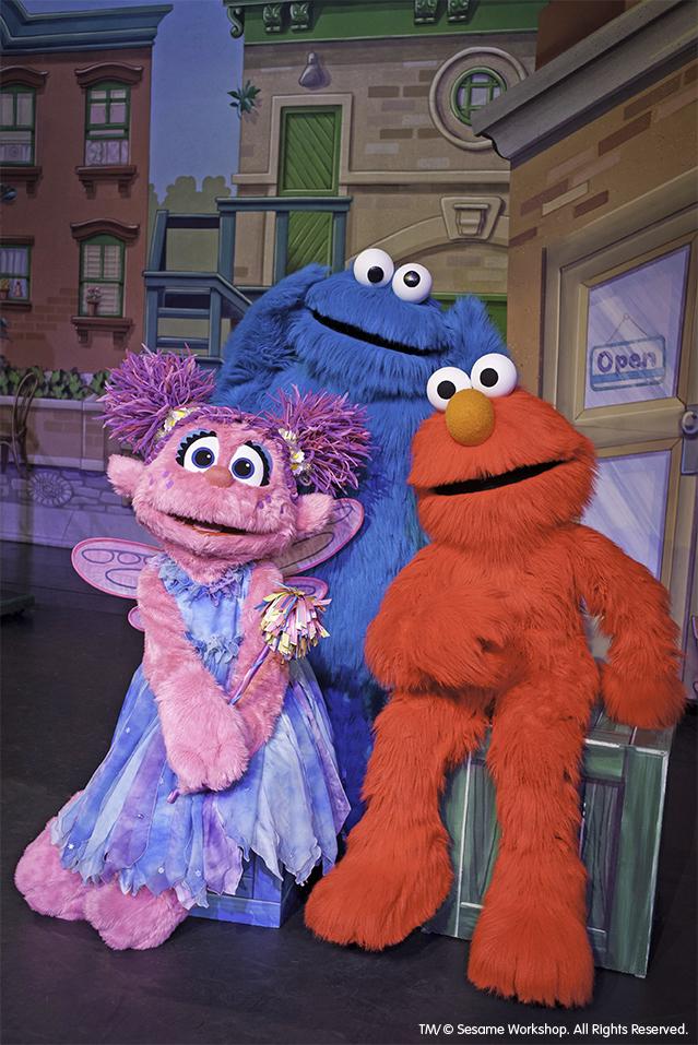 Abby Cadabby, Cookie Monster, Elmo, Sesame Street Live Let's Dance