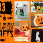 13 Toddler Friendly Halloween Crafts