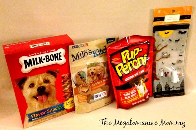 Big Heart Brands Pup-Peroni, Milk Bone Flavor Snacks, Milo's Kitchen Chicken Jerky Sticks, Treat Bags #TreatThePups