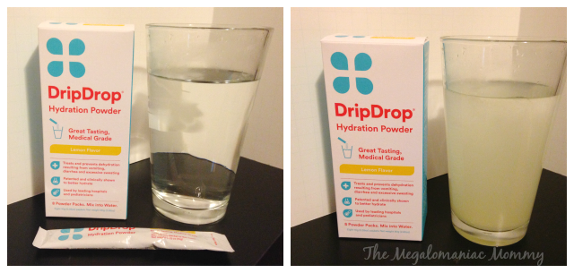 DripDrop Before & After #DrinkDripDrop #spon