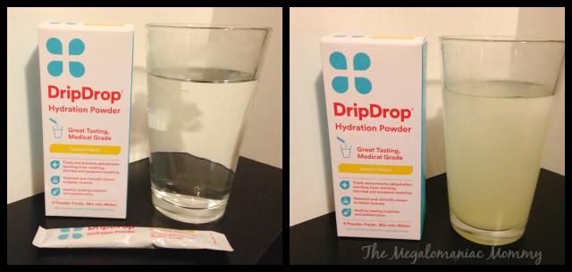 DripDrop Before & After #DrinkDripDrop #spon