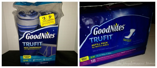 GoodNites TRU-FIT Starter Pack and Refill Pack #TARGETTRUFIT #AD