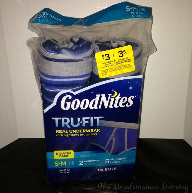 GoodNites Tru-Fit #TRUFITTARGET #AD