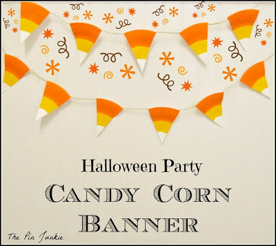 Candy Corn Banner from The Pin Junkie