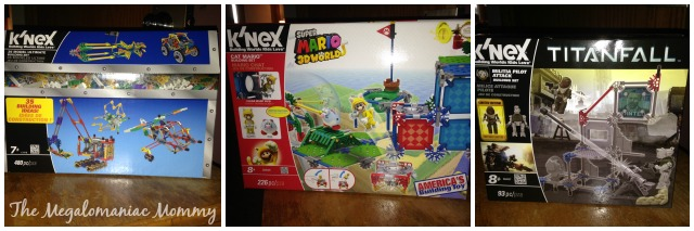 K'NEX Building Sets, Super Mario, Titanfall