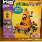 Creating with K'NEX Plants vs Zombies Kit