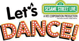 Sesame Street Live:  LET'S DANCE LOGO