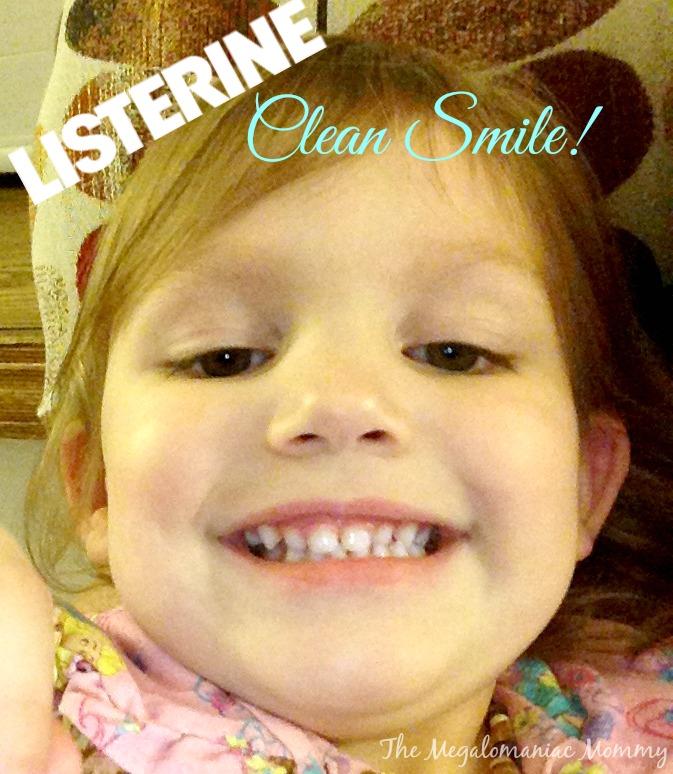 LISTERINE Clean Smile #sponsored #mc