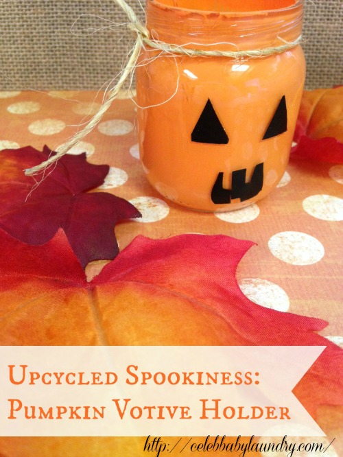 Pumpkin Votive Holder from Celeb Baby Laundry