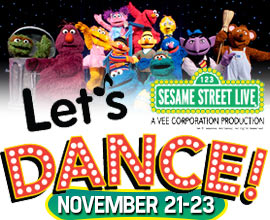 Sesame Street Live - Let's Dance Green Bay WI