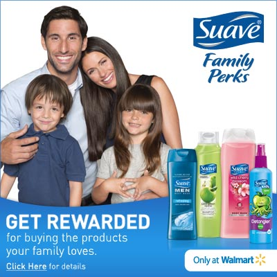 Suave Family Perks Program Walmart