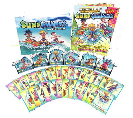 Surf Sharks Gift Pack