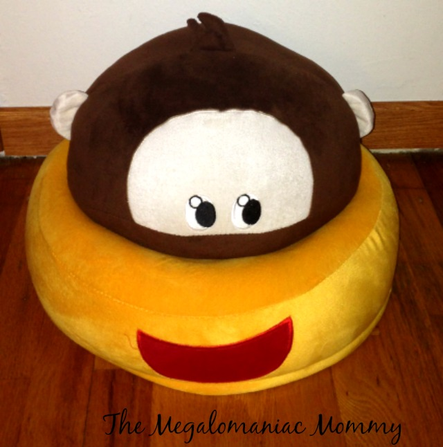 Critter Cushion Monkey Plush