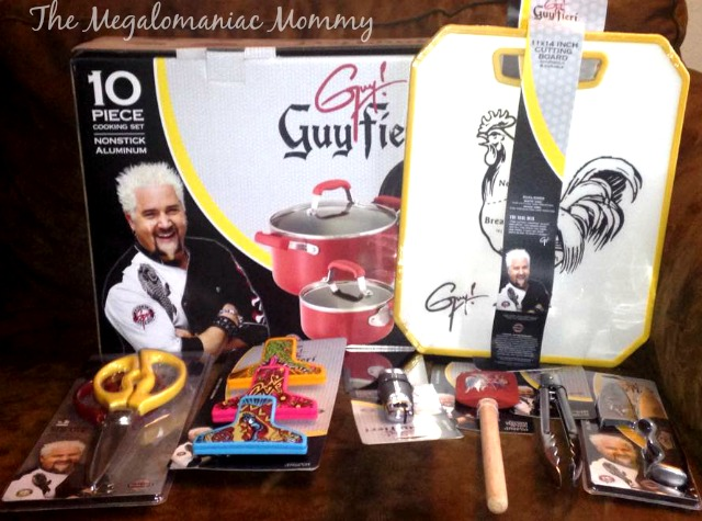 Guy Fieri Non-Stick Aluminum Cookware and Cooking Tools #GuyAtWM #Walmart #GuyFieri #sponsored