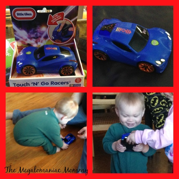 Little Tikes Touch 'N' Go Racers Blue Sports Car