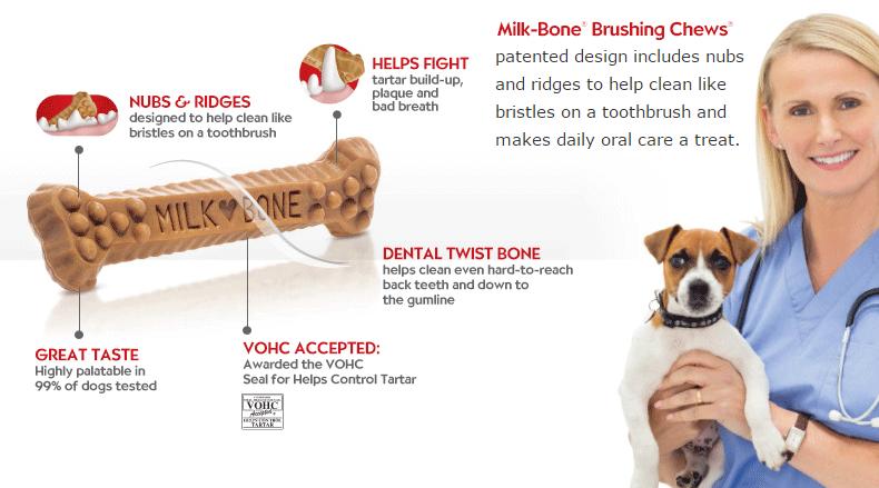 Milk-Bone Brushing Chews #ChewsWisely #milkBone #SayItWithMilkBone