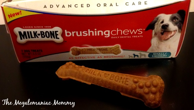 Milkbone Brushing Chews #ChewsWisely, #MilkBone, #SayItWithMilkBone