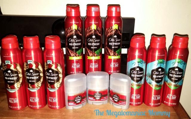 Old Spice Body Spray and Deodorant #HoliSPRAY #SmellcometoManhood #sponsored