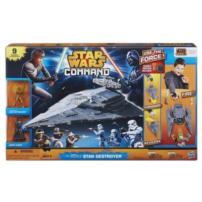 STAR WARS COMMAND STAR DESTROYER SET Hasbro