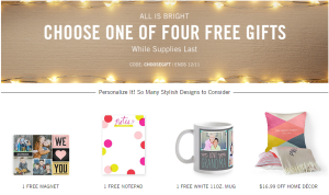 Free Gifts from Tiny Prints