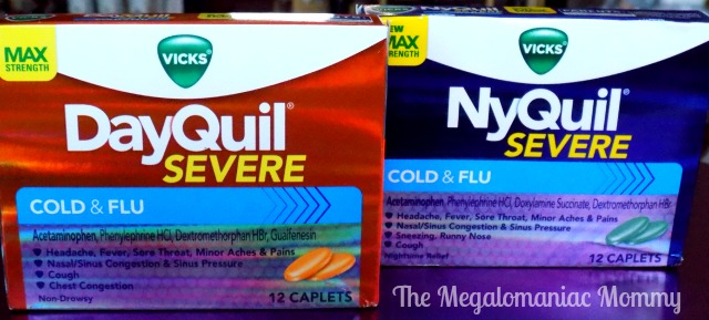 Vicks DayQuil NyQuil Severe #ReliefIsHere #sponsored