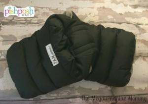 7 AM WarmMuff Fleece Lined Brights Metallic Charcoal PishPosh Baby