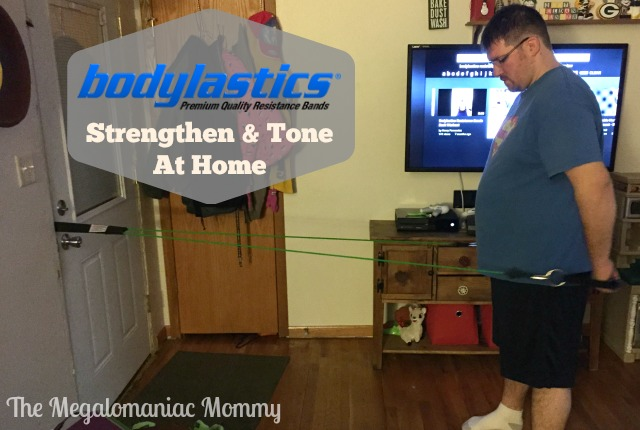 Bodylastics Strengthen and Tone at Home Resistance Bands