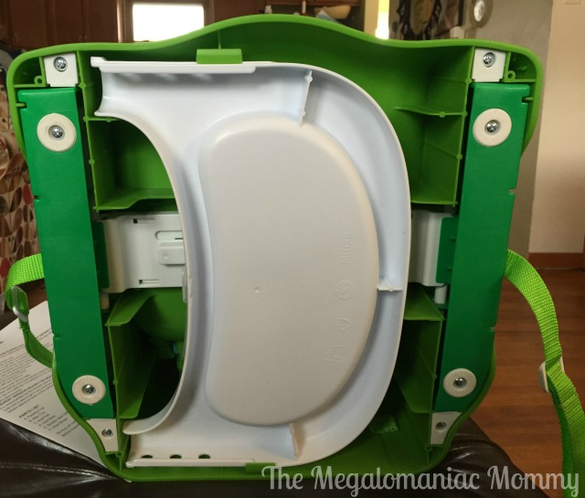 The Very Hungry Caterpillar Happy & Hungry Booster Seat Tray Storage