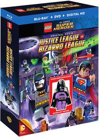 LEGO Justice League Vs Bizarro League Blu-ray