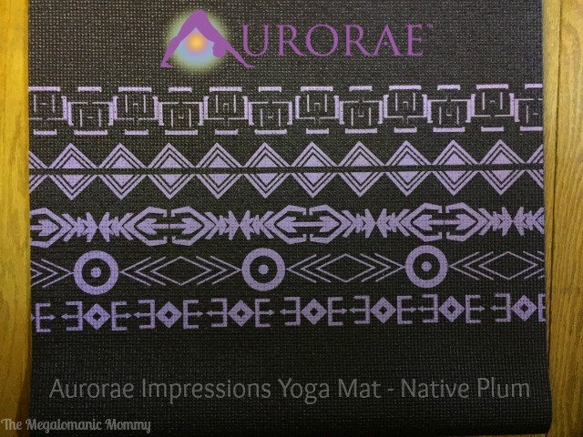 Aurorae Impressions Yoga Mat Native Plum