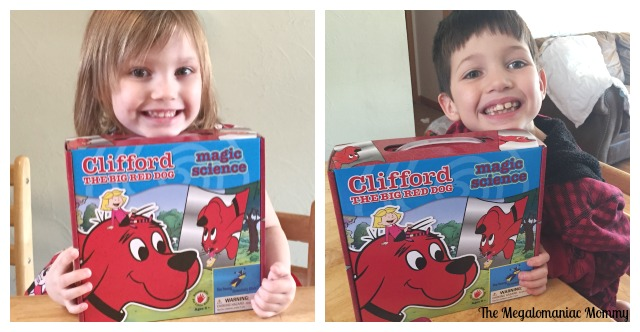 Clifford The Big Red Dog Magic Science