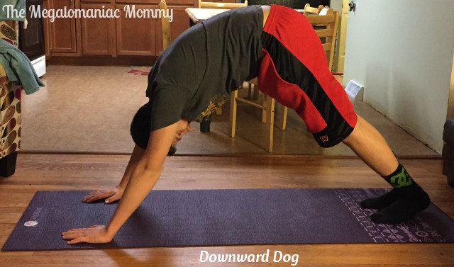 Downward Dog Aurorae Impressions Yoga Mat