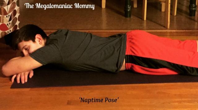 Naptime Pose Aurorae Impressions Yoga Mat
