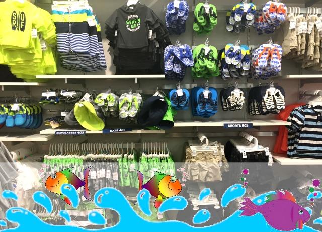OshKosh B'gosh Boys Swimwear #ImagineSpring #IC #sponsored