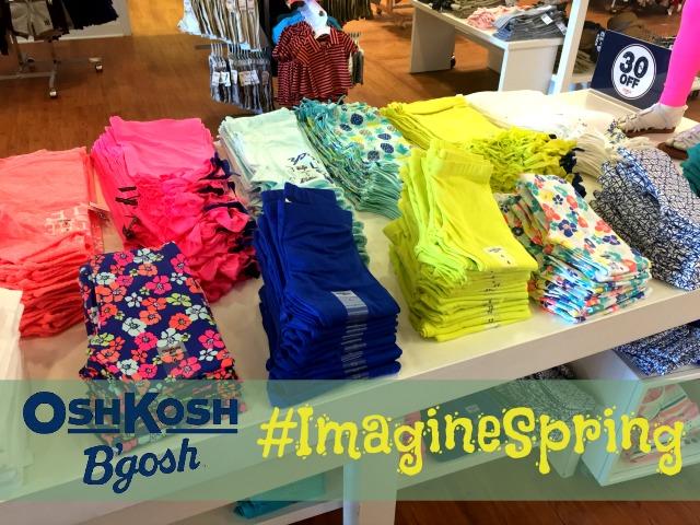 OshKosh B'gosh #ImagineSpring #IC #Sponsored