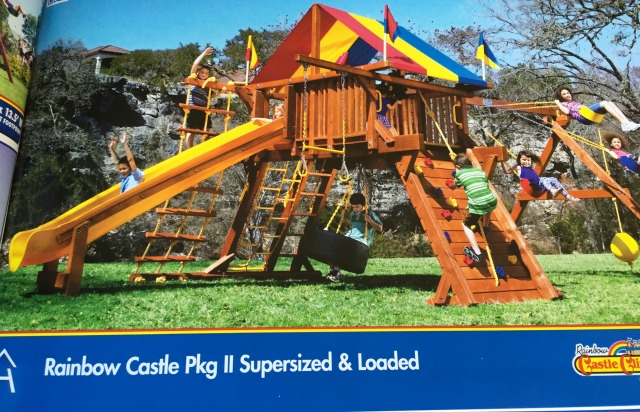 Rainbow Play System Rainbow Castle Pkg II Supersized & Loaded