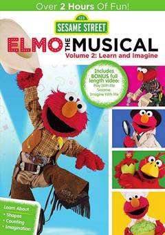 Sesame Street Elmo The Musical 2 Learn and Imagine
