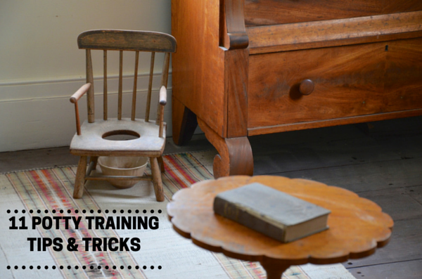11 Potty Training Tips & Tricks