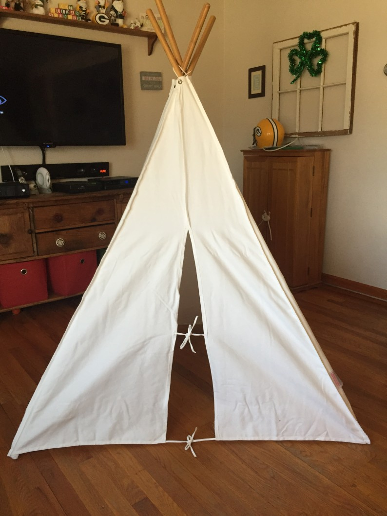 """Pacific Play Tents The """"Painting"""" Teepee"""