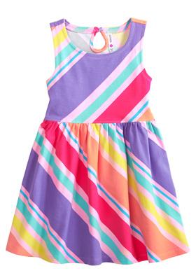 FabKids Striped Skater Dress