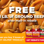 #FreeBeef When You Buy Hamburger Helper
