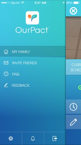 OurPact Dashboard