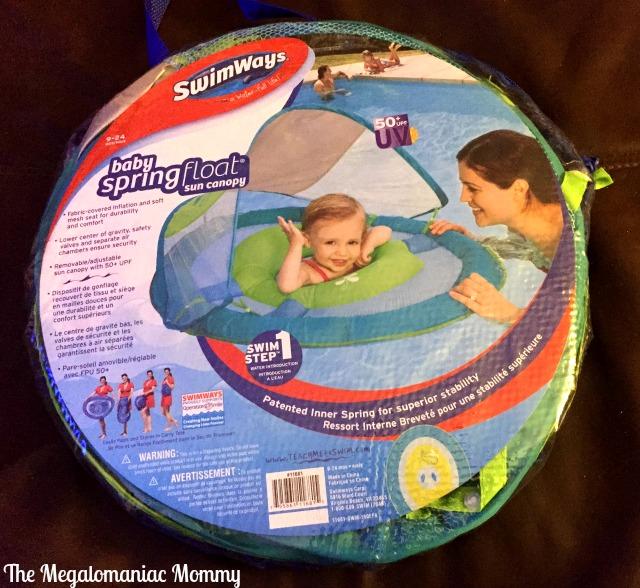 SwimWays Baby Spring Float Sun Canopy #swimways #ic #sponsored