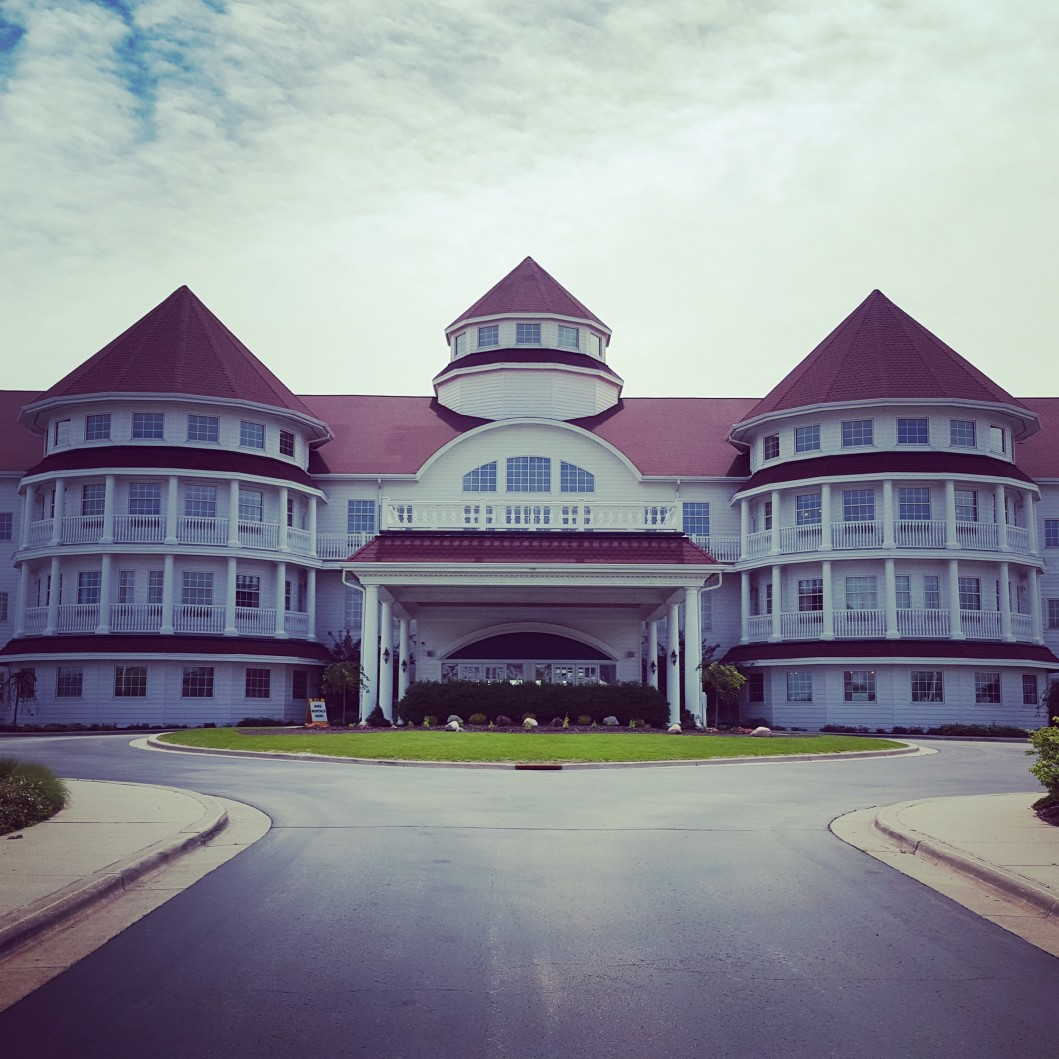 Blue Harbor Resort - Sheboygan Wisconsin - Front Entrance
