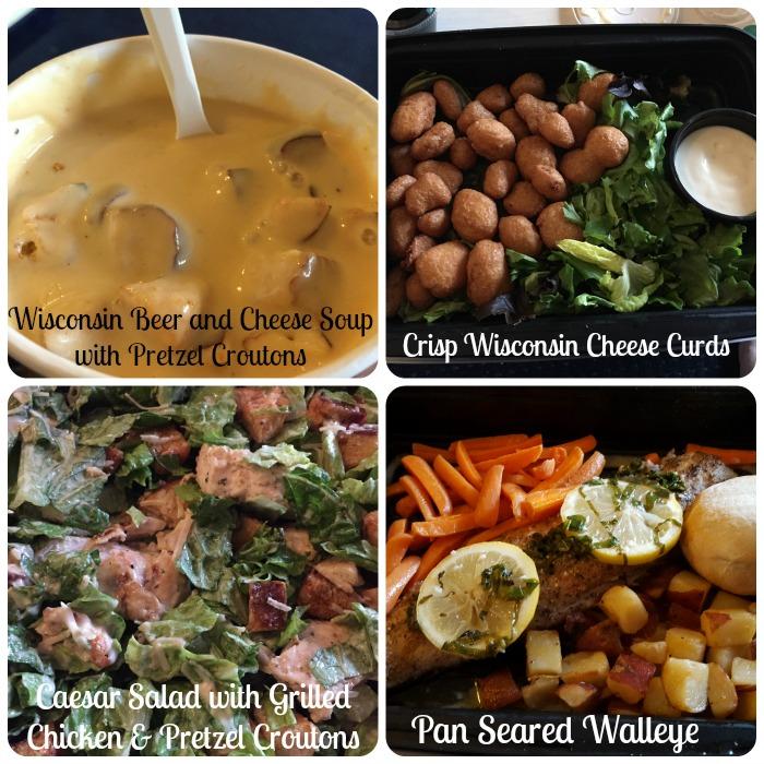 Dinner from The Beacon - Blue Harbor Resort - Sheboygan WI